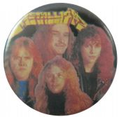 Metallica - 'Old Group Black' Button Badge